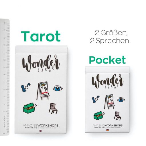 Wondercards DT Workshops agil gestalten mit Wondercards (Methoden-Spiele-Tools)