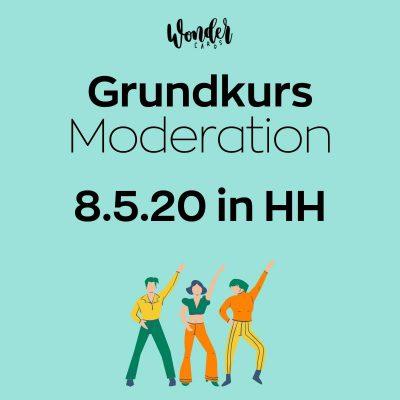 Wondercards Grundkurs Moderation
