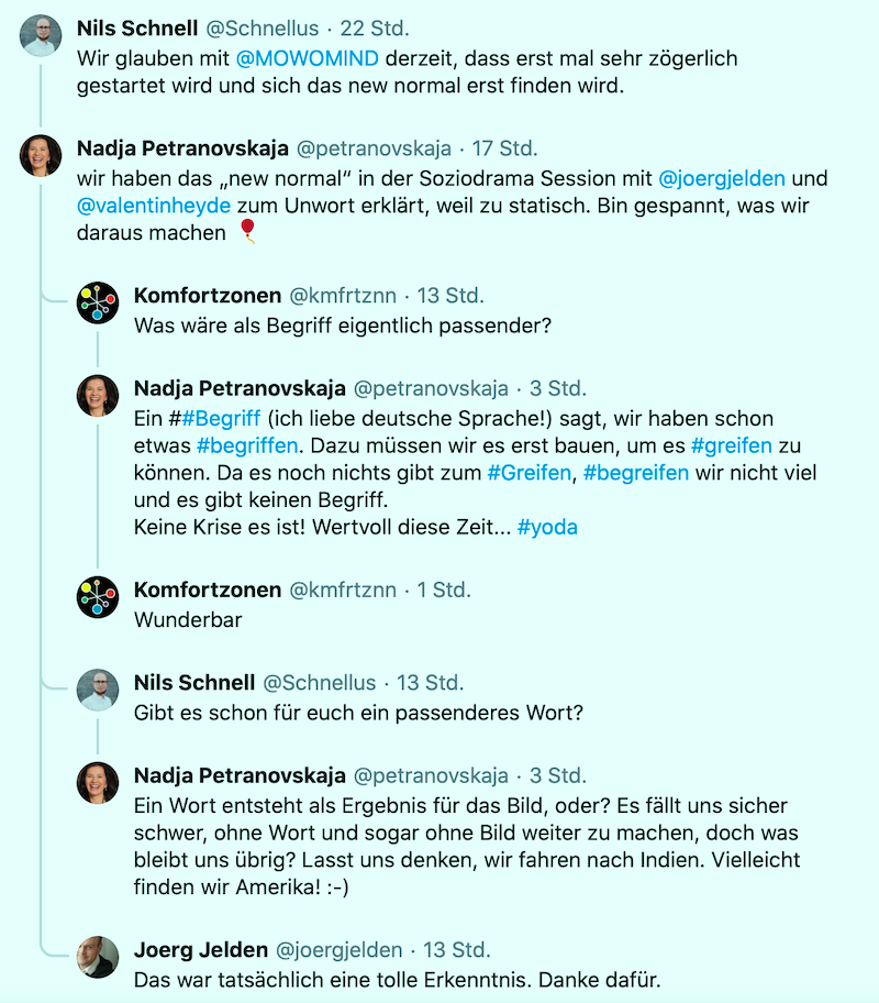 petranovskaja new normal twitter
