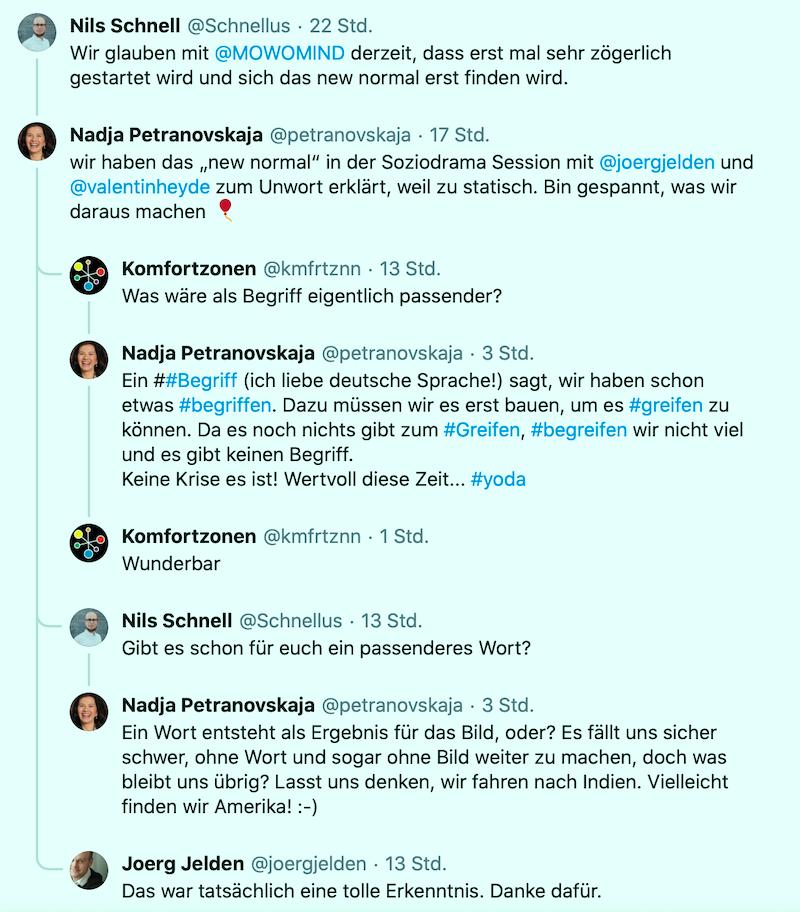 petranovskaja new normal twitter